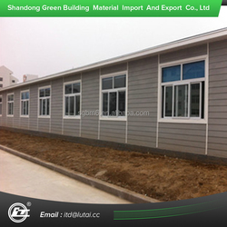 Non-Asbestos Cost Effective Building Materials Wood Grain Fiber Cement Board Siding