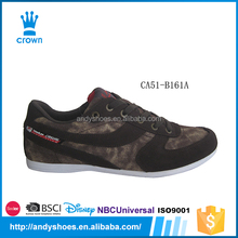 Latest hot sale comfort touch brown cool causal shoes men sneakers