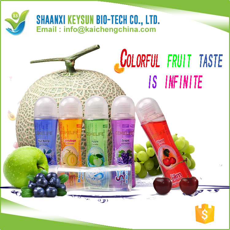 6 Fruit Flavor adult product oral lubricant