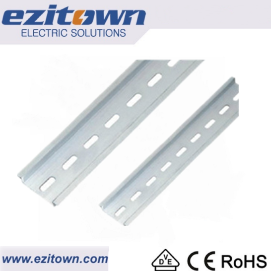 TH35-7.5L Galvanized metal aluminum electric din rail