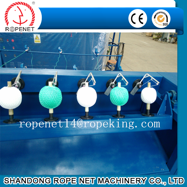 High capacity performance jute yarn ball winding machine from ROPENET
