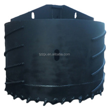 Core barrel rock drill bucket suitable for silty clay