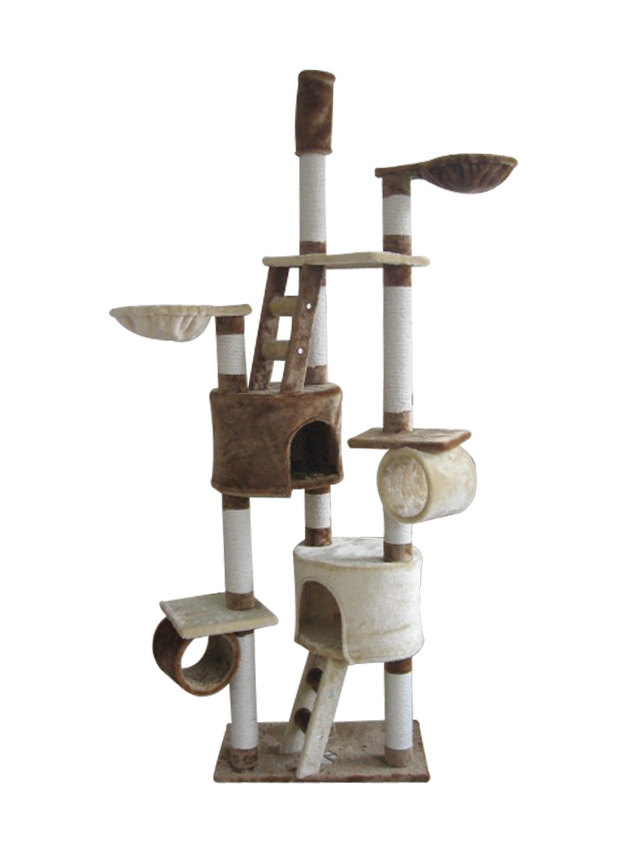 Aimigou QQpet BSCI cat tree manufacturer cat scratching tree with ladder