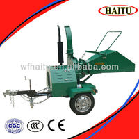 CE approval small mobiel wood chipper