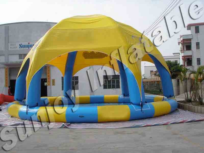 2016 Inflatable Swimming Pool Tents Sunjoy Ifnalatbles Buy Swimming Pool Tents Inflatable Dome