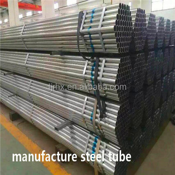 manufacture round galvanized steel pipe