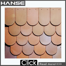 Y1 synthetic terracotta ceramic roof tile,fish scale roof tile