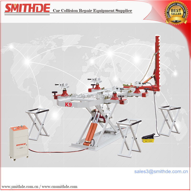 Yantai Smithde K9 use for good collision repair shops