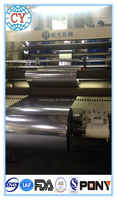 metalized pet soft film rolls of soft food packaging materials