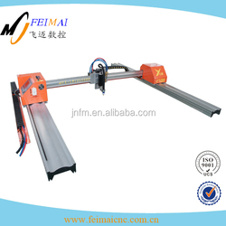 aluminum gantry gas cutting machine gas cutting