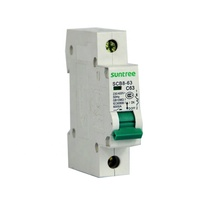 Home Use New Type Mini AC MCB DZ47-63 Circuit Breaker Single Pole 32A