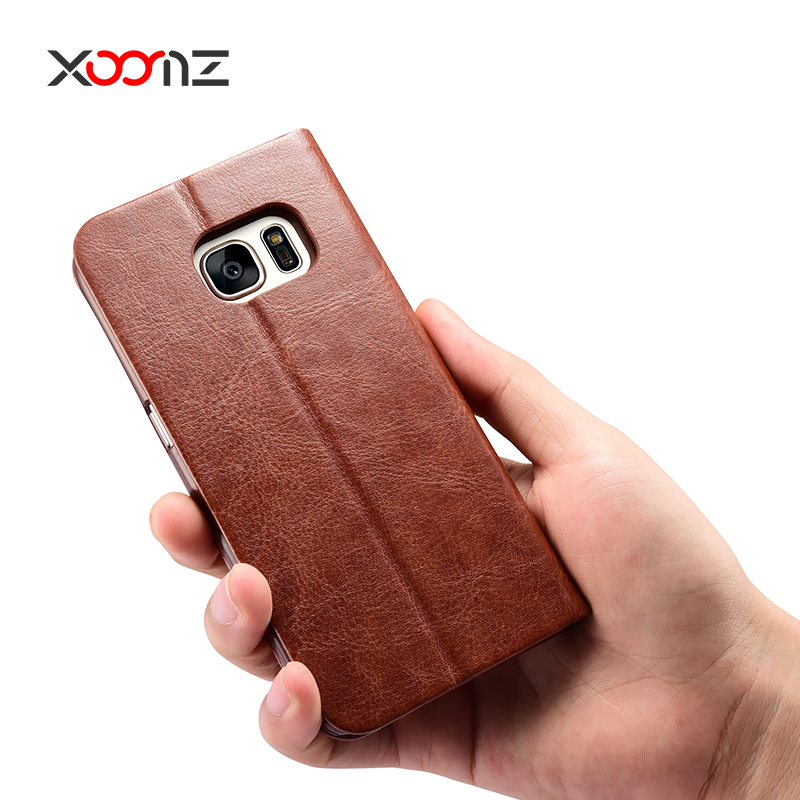 XOOMZ PU Leather Case for Samsung Galaxy S7