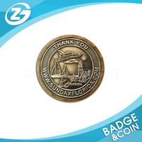 Custom Promotional Fashionable Die Cut Coin
