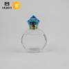 round empty glass perfume spray bottles/fancy clear 100ml perfume container