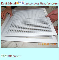 custom return air filter grille with frame