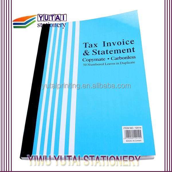 Duplicate Form Invoice,Tax Invoice,Carbonless Invoice Book - Buy