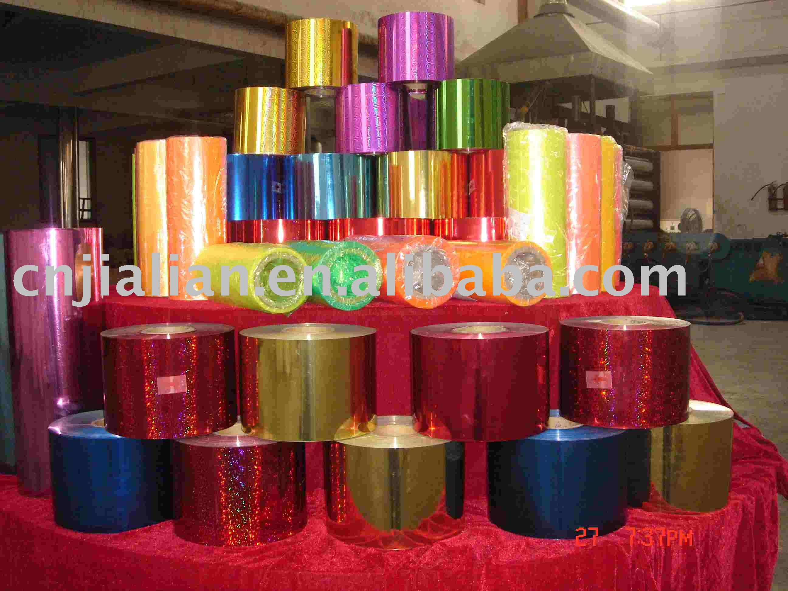 PVC Metallized and laser Sheet