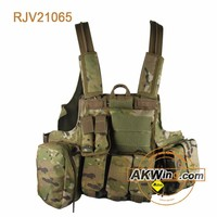 DPM Woodland Camouflage PLCE Combat Tactical Vest wholesale hunting
