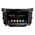 Dashboard placement and 7 inch screen size car radio dvd for I30