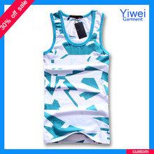 Promotional Cotton Mens Jersey Tank Tops