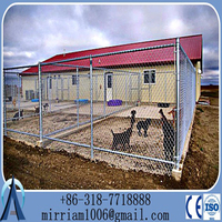 China Baochuan-- Wholesale dog kennel cage / big dog cage/dog cage 2-room 2-door