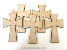 laser cut Unfinished Wood Crosses Easter craft supplies