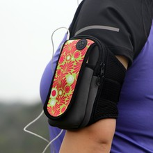 2017 Unique Design High Quality Outdoor Sports Arm Pack Mobile Phone 6 Running Armband