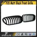 1Series F20 ABS Matt Black Auto Car Front Grille for BMW F20 2016UP