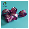 2016 year 16colors 6mm aluminium ring for love bird can put picture on the ring
