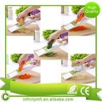 Onion, Potato, Fruits and Vegetables Multi Chopper - Slicer, Shred, Cutter for Salad, Soup - Free Peeler and Instructions