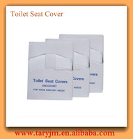nonwoven disposable toilet seat cover with waterproof