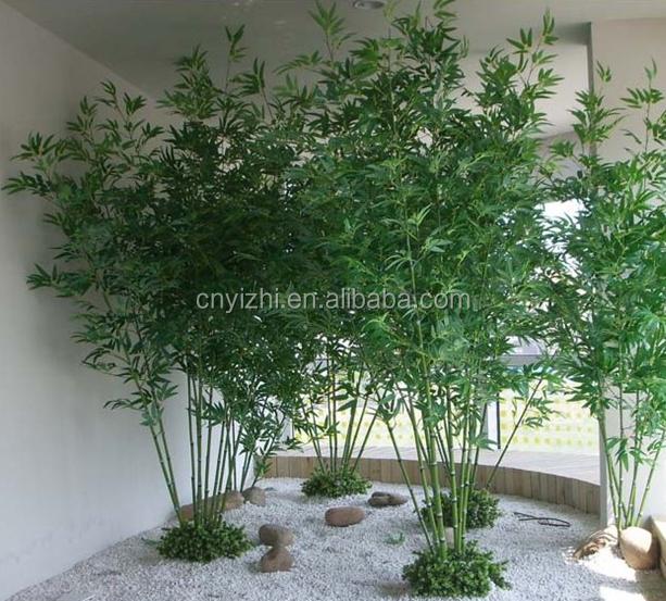 Rvore de bambu artificial planta de pl stico por atacado alta qualidade yzp000080 decora o do - Bambu planta exterior ...