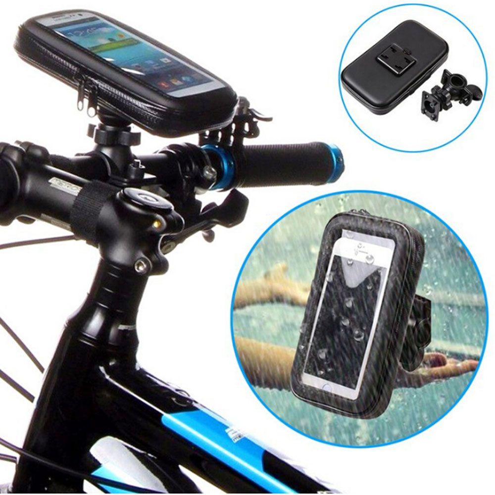 Bicycle Handlebar Mount Holder Shockproof Dirt proof Waterproof Cell Phone Case Cover For iphone 6 6s