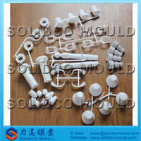 custom plastic injected beach umbrella accessories mould,base parts mold