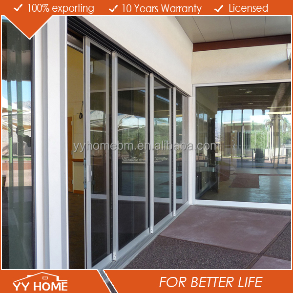 new house design sliding glass main gate colorsseal comply with AS2208