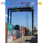 Nice performance RTG mobile crane and rubber tyred gantry crane price