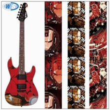 Top Quality custom guitar strap wholesale heat transfer