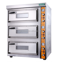 industrial Commercial Bakery Appliances Stainless Steel Rotary Oven Baking Pizza