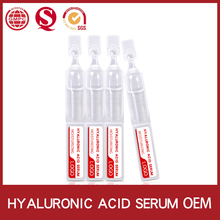 OEM Cosmetics Manufacturer Regenerate For Skin Mesotherapy Ageless Instantly Naturals White Hyaluronic Acid Serum