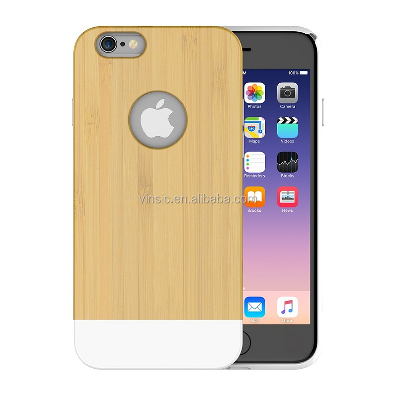 Nature Series Well Made Wood Slim Cell Phone Case for iPhone 6/6s Plus [Lifetime Warranty]