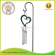 Wholesale High Quality fashion love style plastic coated steel garden stakes