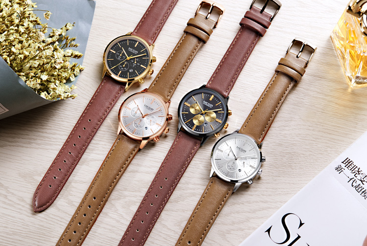 Custom oem your brand logo ultra thin luxury women chronograph watches mesh stainless steel lady wrist watch
