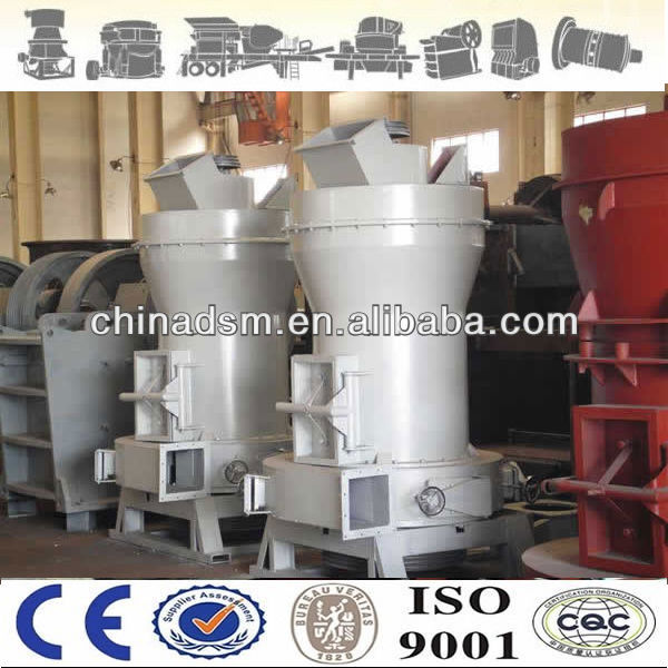 High production phosphate ore Raymond mill