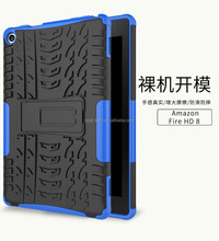 Heavy duty stand style shockproof case for amazon kindle paperwhite,hybrid rugged armor kickstand case for kindle paperwhite