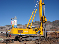 ZR120 tracked pile driver Hydraulic Rotary Drilling Rig For 50M depth