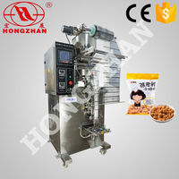 Hongzhan HP series snacks biscuits sugar seeds flour vertical type low cost pouch automatic packing machine for sugar sachet