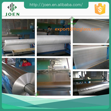 aluminum heat reflective film or foil fiberglass cloth roll price