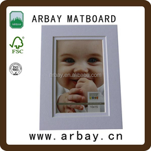 Acid free uncut and pre-cut multi opening frame matt board for picture photo frame digital photo frame