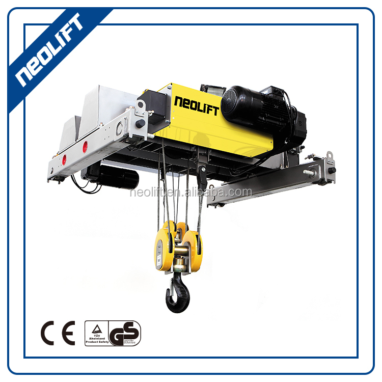 2017 new 5 ton wire rope electric hoist Single Girder Cranes for sale