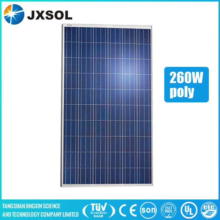 Chinese manufacturer direct supply 260w poly solar cell,solar panel